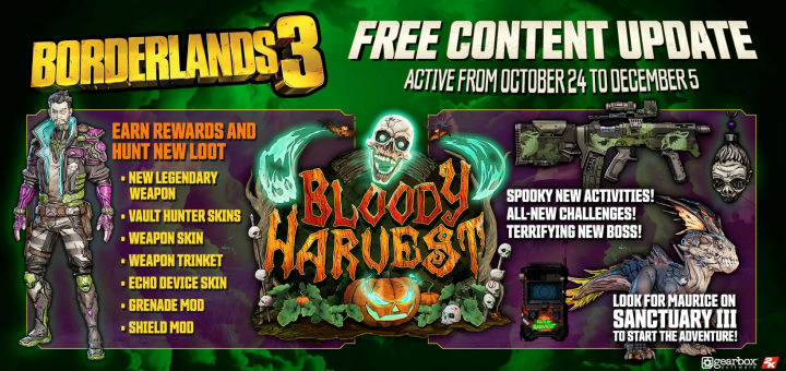 Borderlands3 Bloody Harvest